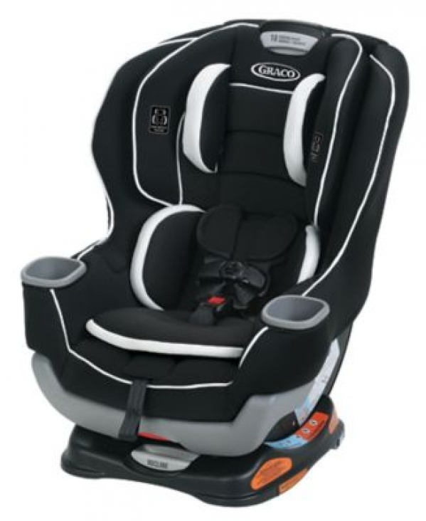 BabyQuip - Baby Equipment Rentals - Graco Extend2Fit Convertible Car Seat - Graco Extend2Fit Convertible Car Seat -